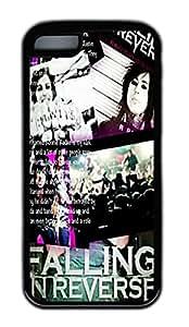 Falling In Reverse iPhone 5C Case TPU Material Black