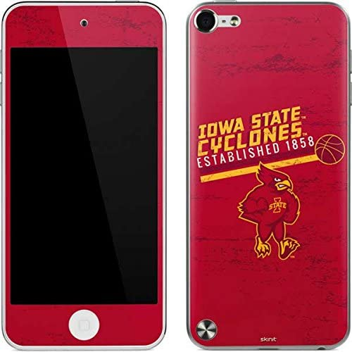 5th Gen/&2012 Officially Licensed College Iowa State Est 1858 Design Skinit Decal Skin for iPod Touch