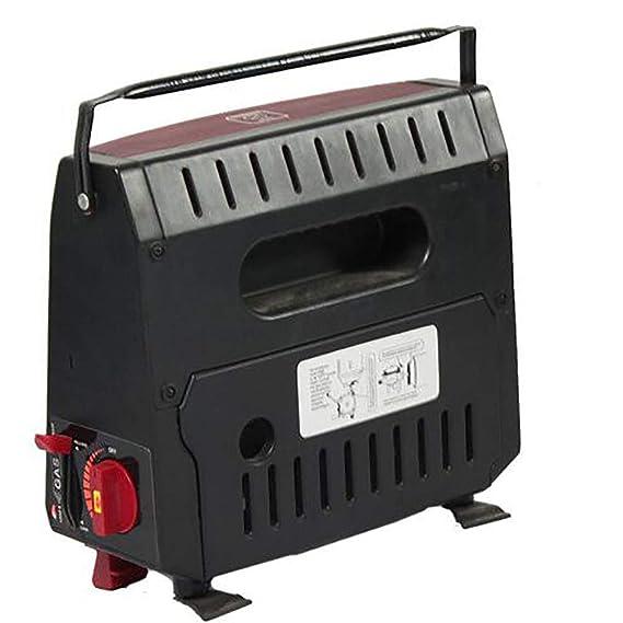 1200W Estufa De Gas Portátil Para Calefacción De Coche Al Aire Libre: Amazon.es: Hogar