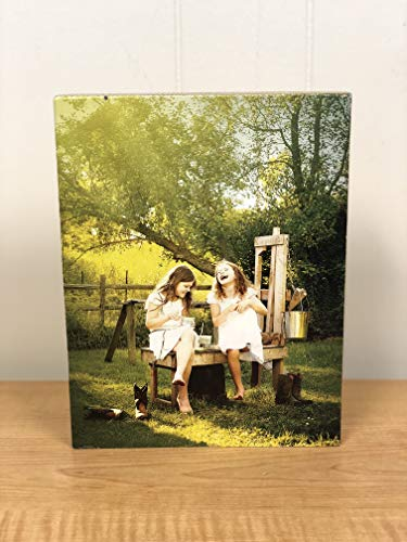 Artblox Personalized Photo Print on Wood Block - Customized with Your Photo Wall Art - HD Digital Prints - (8