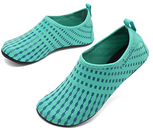 Beach for AoSiFu Yoga Shoes Aqua Mens and Exercise Barefoot Swim Water Treegreen Womens Surf Socks Pool P8qxwxHrn0
