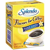 Splenda Flavor Blends for Coffee, FRENCH VANILLA,30 INDIVIDUAL STICKS(1.1 OZ)