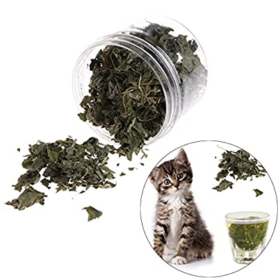 CatNip for Cats Qupida Cat Catnip Flavor Snacks, Natural Silvervine Leaves Dried... [tag]