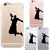 iPhone6 Plus 5.5 inch case Transparent shell Basketball dunk shoot 2