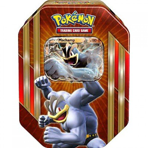 (Pokemon Spring 2016 Machamp-EX Collector Tin Set)