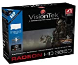 VisionTek ATI Radeon HD 3650 1 GB DDR2 AGP Graphics Card 900284