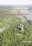 Burgen am unteren Mittelrhein : '... wie ein Monarch mitten in seinem Hofstaate thront', Ulrich, Stefan and Thon, Alexander, 3795422108