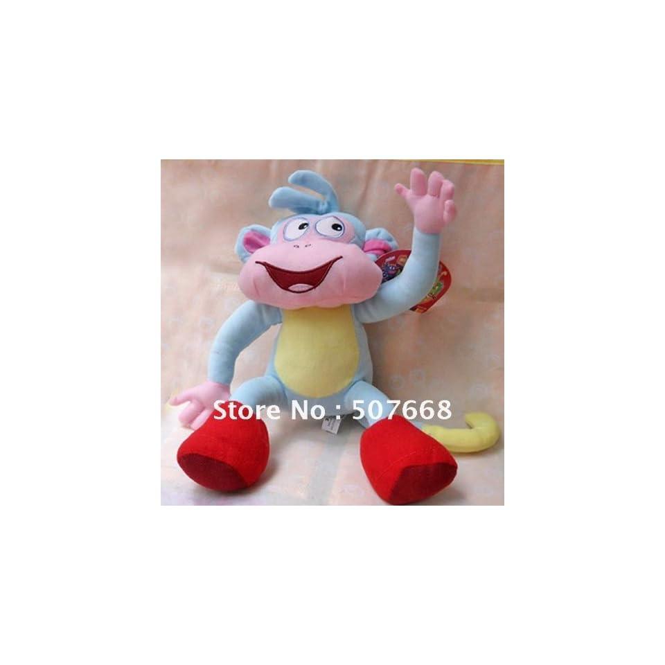 high quality soft plush dora the explorer boots the monkey plush dolls toy 10