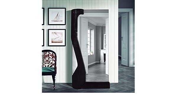 Espejo de diseño en Madera de Pino Natural,: Crudo Natural, Pino y ...