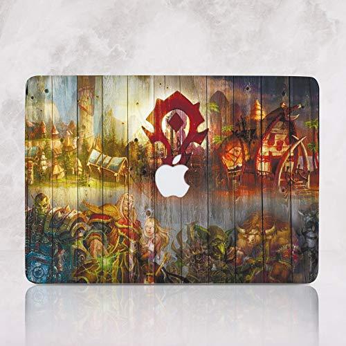 Art Craft Design Macbook Air Case With Printed Bottom Hard Macbook Pro Case for Mac Book Air 13 inch Air 11