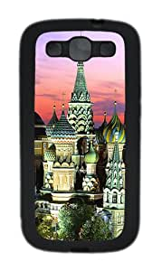 Samsung Galaxy S3 Cases- Kremlin Building TPU Silicone Case Cover for Samsung Galaxy S3 / SIII / I9300 Black