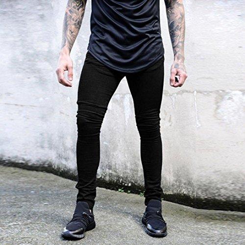 Up In Attillati Dritti Da Slim Jeans Casual Jeans Nero Pantaloni Push Lunghi Fit E Uomo Pantaloncini Skinny Denim Ashop t0qRwF