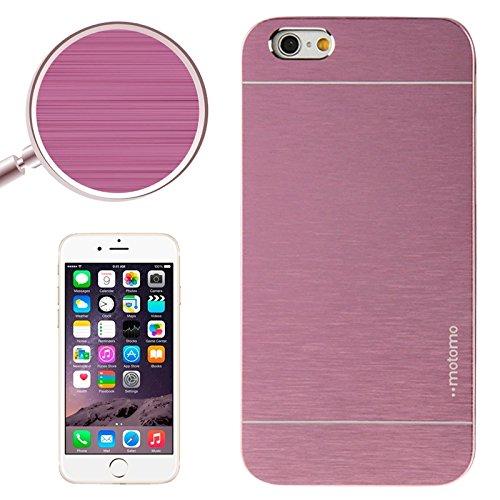 Phone Taschen & Schalen 2 in 1 Brushed Texture Metall & Kunststoff Schutzhülle für iPhone 6 Plus & 6S Plus ( SKU : S-IP6P-0523P )