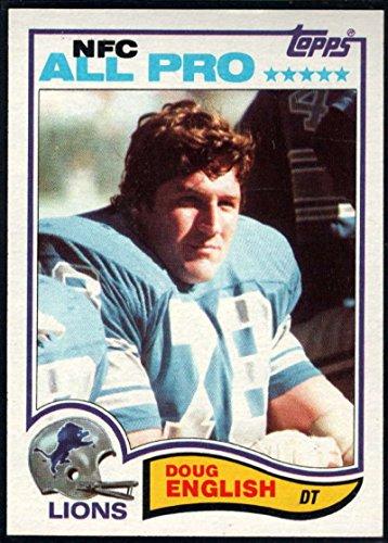- Football NFL 1982 Topps #337 Doug English AP Lions