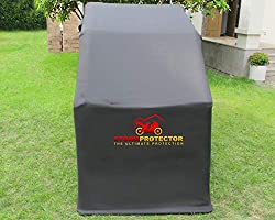 StormProtector/® Lockable Extra Large Size Motorcycle Shelter Cover With Quenched Steel Frame