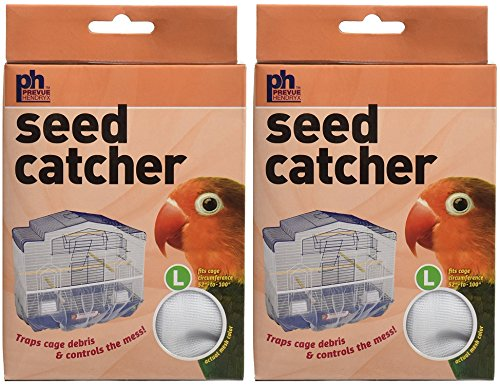 (2 Pack) Seed Catcher, Large by Prevue Hendryx