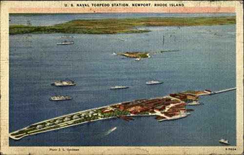 - U.S. Naval Torpedo Station Newport, Rhode Island Original Vintage Postcard