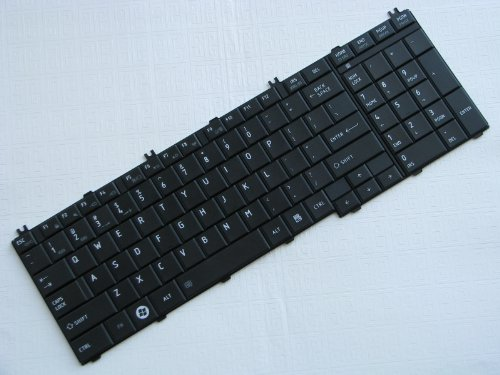 Brand New Replacement Keyboard ( Black ) for Toshiba Satellite PSK3SU-03J020 Laptop / Notebook PC Computer [ Merchant & Seller: Micro_Power_Source ( MPS ) ] (Toshiba Replacement Key)