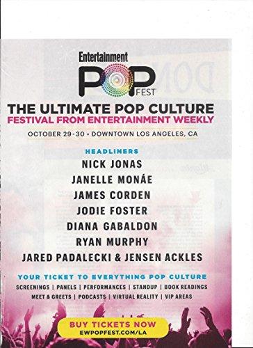 (PRINT AD For 2016 Pop Fest Los Angeles Pop Culture Festival Promo)