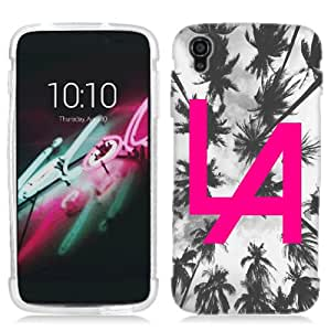 for Alcatel One Touch IDOL 3 5.5 Pink LA Phone Cover Case