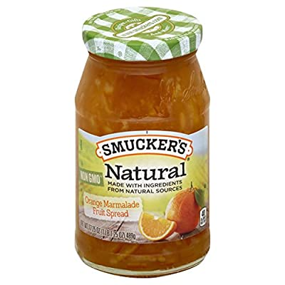 Smucker's Natural Orange Marmalade Fruit Spread, 17.25 oz