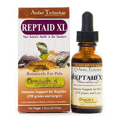 Amber Technology Reptaid XL Immune Support for Large Reptiles, 1oz. by Amber Technology
