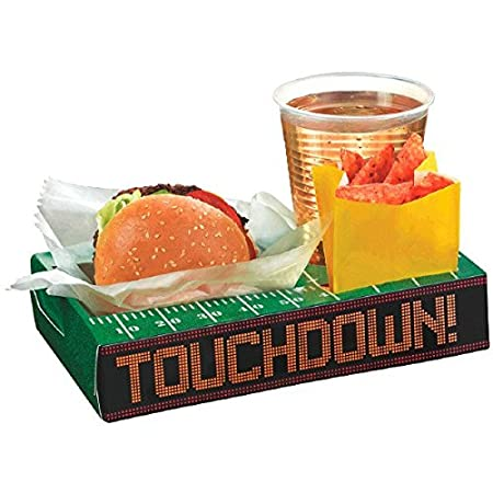 Football Tailgate Trays (8 ct)