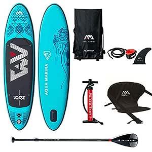 Aqua Marina Vapor 2019 - Juego de Tabla de Surf Hinchable con ...