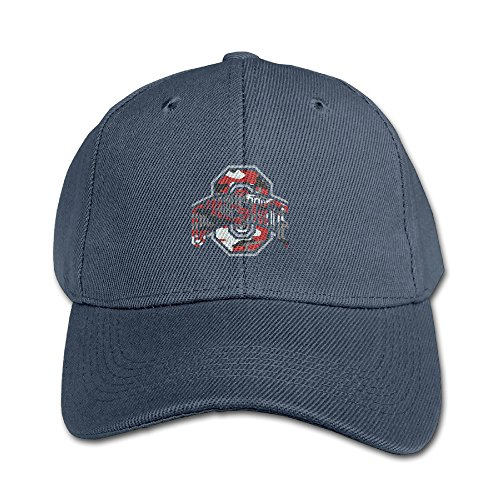 Navy Blue Brush Cotton Hat - 8