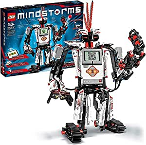 LEGO Mindstorms EV3 31313 - Robot Kit with Remote Control for Kids, Educational STEM Toy for Programming and Learning How to Code (601 pieces) with Brand Warranty