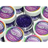 Rainbow Dust Cake Glitter Non-Toxic Decor Sparkle Range JEWEL SUPER NOVA PURPLE