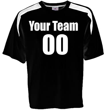 31b57311e866 Amazon.com  Custom Soccer Jersey Personalized with Team name Player ...