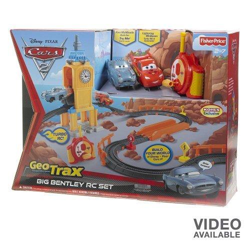 (Disney Pixar Cars 2 Geotrax Escape From Big Bentley RC Set)