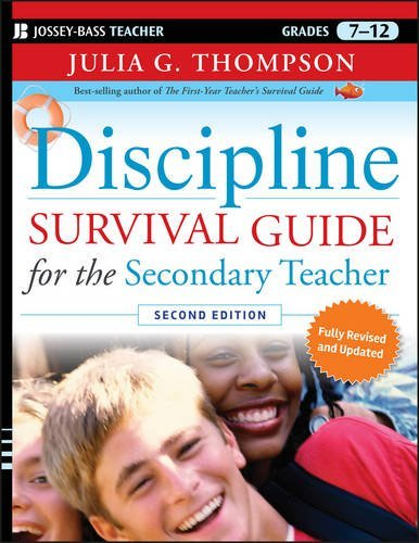 Discipline Survival Guide for the Secondary Teacher by Julia G. Thompson (2010-11-09)