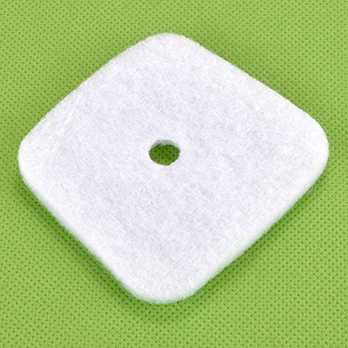HIPA (Pack of 6) Air Filter for Mantis 7222 7222E 7222M 7225 7230 7234 7240 7920 7924 Tiller / Cultivator
