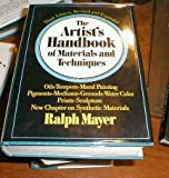 The artist's handbook of materials and techniques.