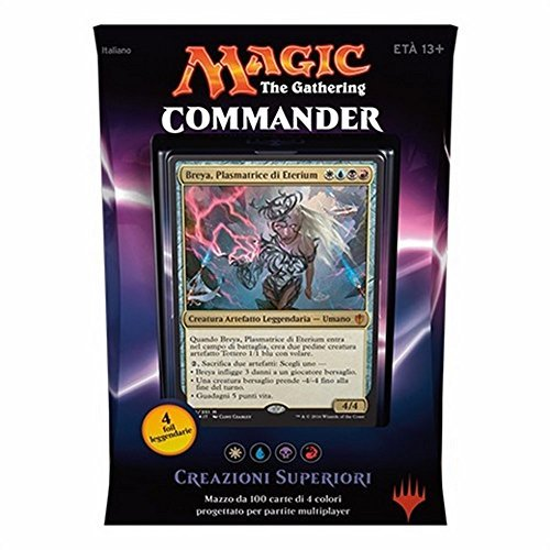 Magic the Gathering Commander 2016 Deck – Invent Superiority (WUBR)