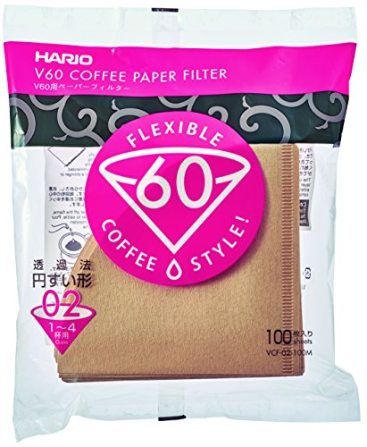 Hario 100 Count Coffee Natural Filters product image