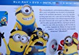 DESPICABLE ME 2 Limited Time Blu-ray Combo Pack Includes 3 New Mini-movies (Steve Carell)