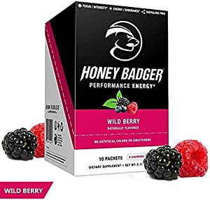 Sweepstakes: Honey Badger Natural Keto Pre Workout for...