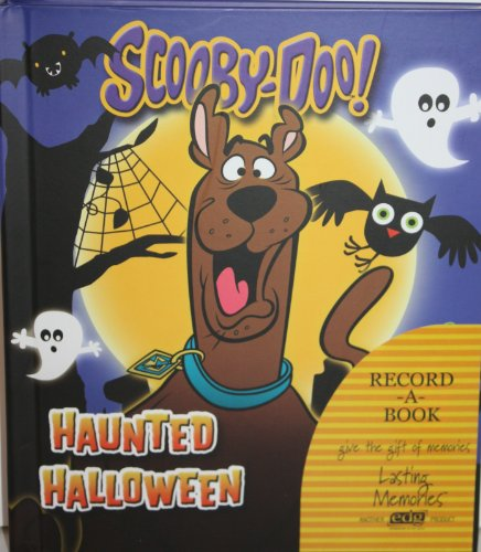 Scooby-doo! Haunted Halloween Record a Book -
