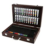 Jili Online 126Pieces Set Kids Drawing Painting Art Set Watercolor Pen Oil Pastel Paint Brush Tool Art School Supplies