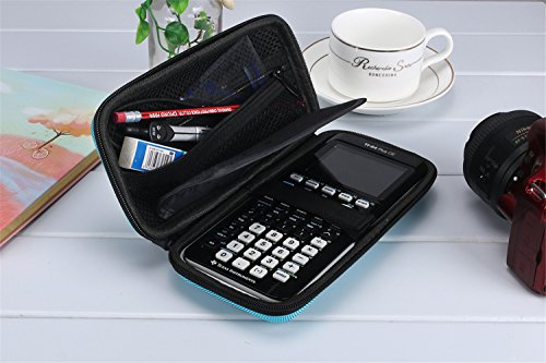 Eyglo Hard EVA Shockproof Carry Case Bag for Texas Instruments TI-84 Plus  CE/Color TI-83 Plus,TI-89 Titanium, HP 50G Graphing, Scientific Financial