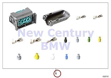 amazon com bmw genuine headlight wiring harness repair rep kit bmw genuine headlight wiring harness repair rep kit for socket housing 12 pol 318i