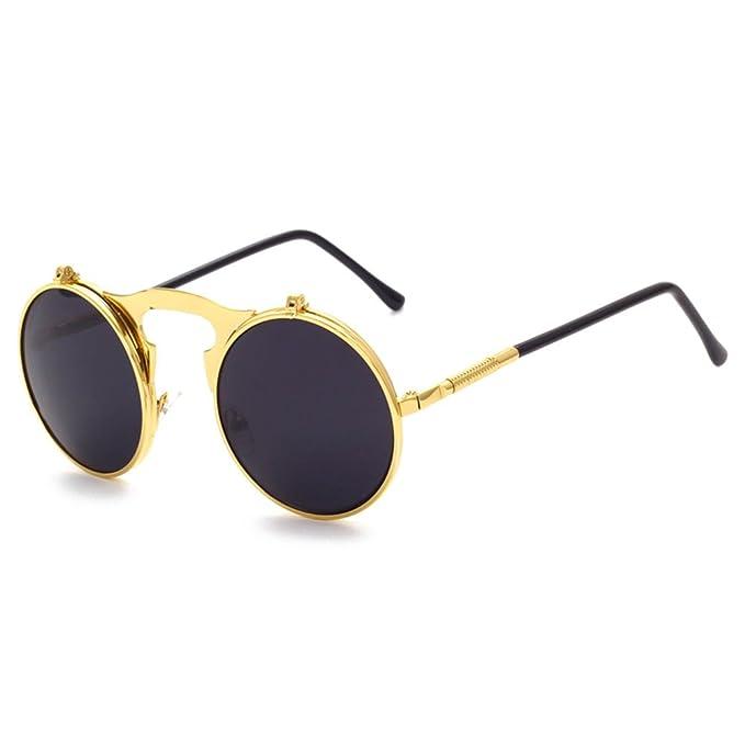 Neu Polarisiert Steampunk Sonnenbrille Herren Fahren Draussen Sport Brillen 4 Swz7JG