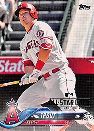 8a81e2c30901 Amazon.com  2018 Topps All-Star Edition MLB All-Star Game  3 Mike ...