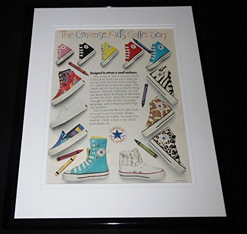 1987 Converse Kids Collection Shoes Framed 11x14 ORIGINAL Advertisement -