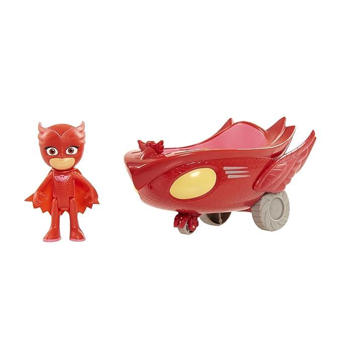 PJ Masks Vehículos de Juguete (Bandai 24577)