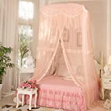 Large Hanging Mosquito Nets/Dome Ceiling Mosquito Net/Princess Palace Floor Universal Mosquito Net-B C