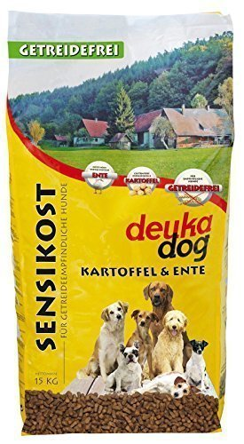 Deuka Dog Sensikost Duck Potato 15kg Grain Free Amazon Co Uk